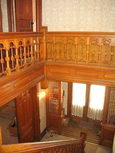 Own a piece of Henry history with this beautiful 19th Century 4 BR, 3 BA home with wrap-around porch. Exceptional artistic original woodwork throughout this large home with built-in cabinets, 2 extraordinary ornate fireplaces-fine examples of late Victorian millwork, original hardwood floors, pocket doors, stained glass, Queen Anne light fixtures and open stairway. Large detached 2-story garage/barn-all on a huge deep lot with mature trees, bushes and perennials. Don???t let the exterior...