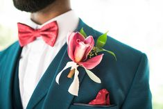 Burgundy orchid boutonniere for wedding photo: Eden and Archer Photography flowers: Hello Buttercup Flowers Growing Flowers, Cut Flowers, Orchid Boutonniere, Photography Flowers, Flower Farm, Buttercup, Archer, Daffodils, Orchids