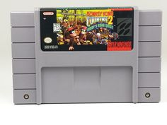 DONKEY KONG COUNTRY 2 Diddy's Kong Quest SNES Super Nintendo New BATTERY