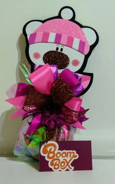 Personalised Gifts Diy, Candy Bouquet, Ideas Para Fiestas, Boombox, Diy And Crafts, Holiday, Christmas, Gift Wrapping, Baby Shower