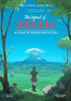 Studio Ghibli meets Zelda in these fantastic fan-made movie posters - Zelda Universe