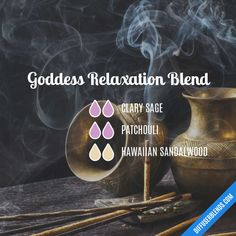 Goddess Relaxation Blend - Essential Oil Diffuser Blend