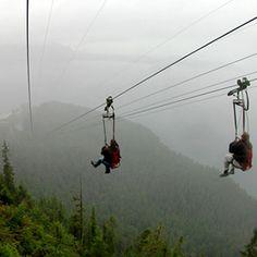World's Coolest Ziplines. via T+L (travelandleisure.com)..