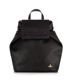 Black Horse Brass Leather Bag #AW1516