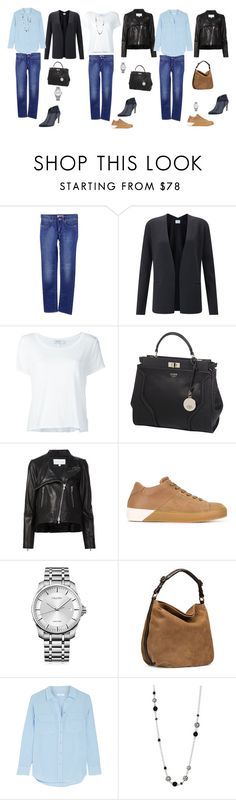 """""""Unbenannt #48"""" by yelena-lorich ❤ liked on Polyvore featuring Acne Studios, Jigsaw, Frame Denim, GUESS, Veronica Beard, LEATHER CROWN, Calvin Klein, UGG, Equipment and John Hardy"""