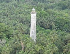 Faro de Punta Mbonda Lighthouse, Rio Muni, Equatorial Guinea