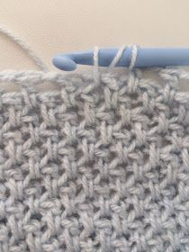 Yes, it's crochet! - Learn the Tunisian Crochet Smock Stitch *Video Tutorial and New Pattern* - Crochet Short Tunisian Crochet Stitches, Crochet Motifs, Crochet Stitches Patterns, Crochet Chart, Crochet Granny, Knitting Stitches, Knitting Patterns, Crochet Simple, Crochet Diy