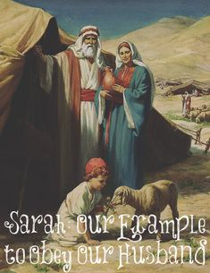Why do you think God used Sarah, who we know obeyed Abraham twice when he asked her to lie and then she was put into the King's harem, as an example of submission for us Submission Quotes, 1 Peter 3, Submissive Wife, Godly Wife, Bible Truth, Christian Marriage, Walk By Faith, God Loves Me, Future Wife