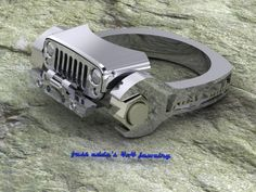 Jeep ring from fast eddies jewelry