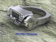 Jeep ring from fast eddies jewelry