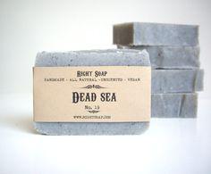 Dead Sea Soap  Vegan Soap Unscented Soap All Natural von RightSoap
