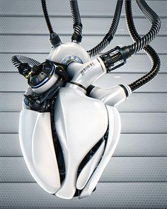 인공장기 <<<< write about the character with the robotic heart. #lucky Hashtags: #MajesticVision #Android