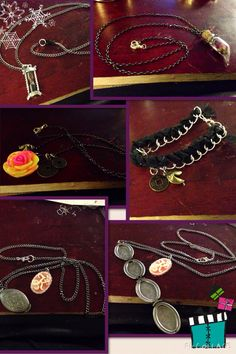 Jewelry items that I made as Christmas presents for my friends