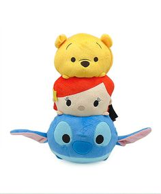 Look what I found on #zulily! Tsum Tsum Plush Backpack #zulilyfinds
