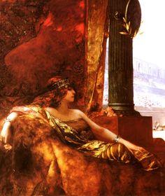 Jean-Joseph Benjamin-Constant (1845–1902)   Empress Theodora at the Coliseum