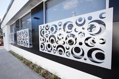 Get the best for your home or business and outfit your property with laser cut decorative metal screens from Kleencut Solutions. Metal Deck Railing, Balcony Railing Design, Glass Railing, Laser Cut Panels, Metal Panels, Front Door Design Wood, Decorative Metal Screen, Compound Wall Design, Metal Garden Gates