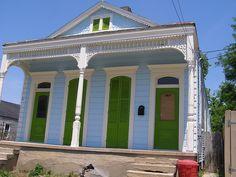 Happy House   Karen Apricot - Flickr. Double shotgun house in New Orleans, LA