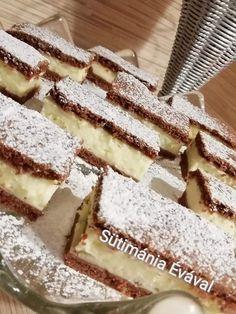Tejfölös pudingos szelet, egy kis egyszerű finomság, mikor sütit enne a család! - Egyszerű Gyors Receptek Homemade Cakes, Izu, Tiramisu, Oreo, Food And Drink, Cookies, Ethnic Recipes, Dessert, Candy