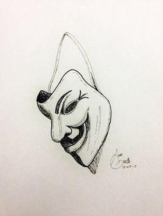 v For Vendetta Mask Sketch images