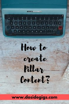 Everything you need to know about creating pillar content - Dosidegigs Content Marketing Strategy, Online Entrepreneur, Blogging For Beginners, Business Tips, Online Business, Business Education, Make Money Blogging, Social Media Tips, Blog Tips