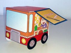 Food truck vintage Origami, Food Truck, Wooden Toys, Trucks, Vintage, Wooden Toy Plans, Wood Toys, Mobile Food Cart, Woodworking Toys