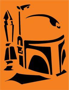 CLA_LIC_5753_L Star Wars Halloween Pumpkin Stencils