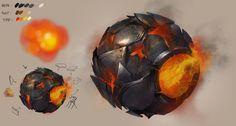 Metal Rust Ball by DongjunLu on DeviantArt