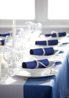 Die 26 Besten Bilder Von Tischdekoration In Blau Color Blue
