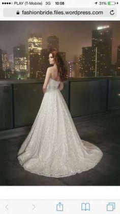Suknia Ślubna Justin Alexander roz. 36 / 38 princess Chełm - image 1