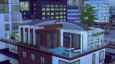 Penthouse Apartment at Evey Sims • Sims 4 Updates
