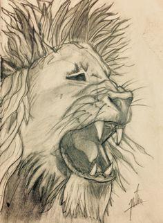 Roaring Lion by Natalia Santana Navarro