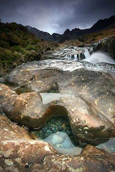 Fairy Pools!!  Isle of Skye, Scotland  Is that not magical?