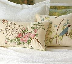 Beauty and the Green: Bring In Spring With Throw Pillows!
