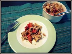Melis colorful students Cuisines: DAY 11: fruit casserole for 1 person