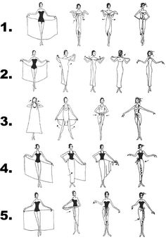 How to tie a ladies sarong