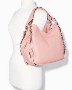 charming charlie | Calley Multi-Buckle Hobo Bag | UPC: 400000126654 #charmingcharlie