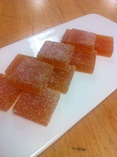 Passion Apricot Pate de Fruit Recipe by Andy Chlebana