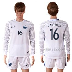 http://www.xjersey.com/france-16-mandanda-goalkeeper-euro-2016-long-sleeve-soccer-jersey.html FRANCE 16 MANDANDA GOALKEEPER EURO 2016 LONG SLEEVE SOCCER JERSEY Only $35.00 , Free Shipping!