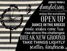 Motivation Monday Dandelion