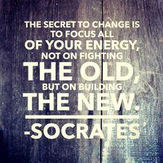 Socrates on change.