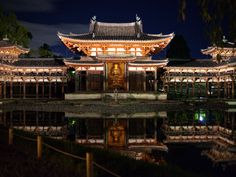 Byoudouin in Kyoto, Japan | from http://www.nipponterest.com/