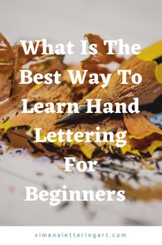 In this calligraphy step by step tutorial for beginners, I am going to be talking about what is the best way to learn hand lettering or calligraphy for all newbies/ beginners. Some other things that I am going to be talking about are best way to learn hand lettering, hand lettering beginners tutorials, hand lettering tips brush lettering tips and tricks, and so much more.