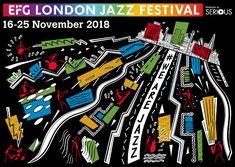 EFG London Jazz Festival, 16-25 November 2018 London Jazz Festival, Festival Guide, 25 November, Comic Books, Cartoons, Comics, Comic Book, Graphic Novels, Comic