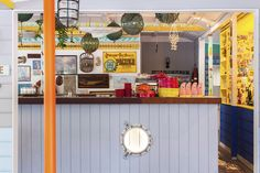 "Sydney's Palm Beach welcomes Uncle Cranky and his surf shack ""Cranky Fins Holidae Inn""... http://www.we-heart.com/2015/03/24/cranky-fins-holidae-inn-sydney-palm-beach/"