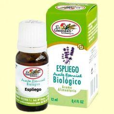 """Aceite Esencial Biológico de Espliego """"EL GRANERO INTEGRAL"""""""