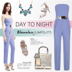 All-in-One: Sleeveless Jumpsuits