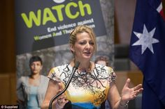 Ms O'Neill has become an advocate for family violence survivors following the 1994 double-...