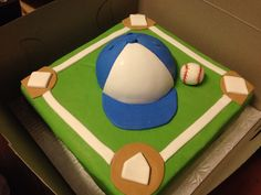 Insert favorite team here. Themed Cakes, Event Planning, Baseball, Sweet, Desserts, Theme Cakes, Baseball Promposals, Candy, Tailgate Desserts