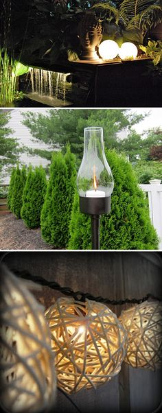 5 DIY Upcycle Outdoor Mood Lighting Ideas!