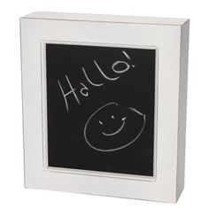 It is an unwritten law that people are never able to find their keys when they are in a hurry. So why not make a new law with this key box and ensure that you will never need to hunt for your keys again. Made of white painted MDF with a chalkboard on the front (e. g. to write messages to your family or flatmates). Bring the unspoilt magic of the South of France into your home with the Campagne range. £24.90